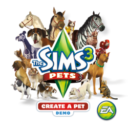 The Sims 3 Create a Pet Demo