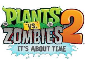 Plants vs. Zombies 2: It's About Time logo