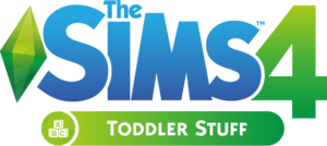 The Sims 4: Toddler Stuff logo
