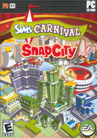 The Sims Carnival: SnapCity box art packshot