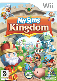 MySims Kingdom Wii box art packshot