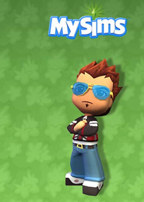 MySims for mobile phones box art packshot