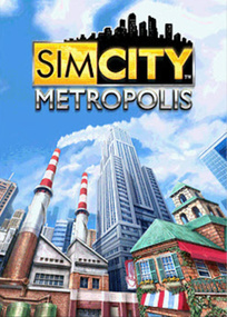 SimCity Metropolis for mobile phones box art packshot