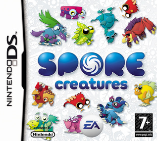 Spore Creatures box art packshot