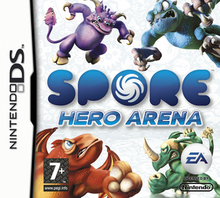 Spore Hero Arena box art packshot