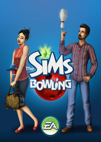 The Sims Bowling for mobile phones box art packshot