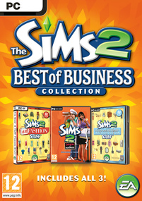 The Sims 2: Best of Business Collection box art packshot