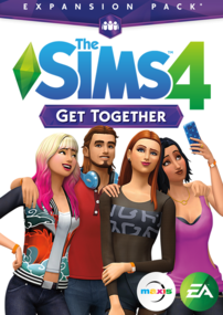 The Sims 4: Get Together box art packshot