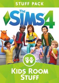 The Sims 4: Kids Room Stuff box art packshot