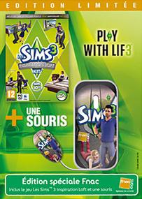 Les Sims 3: Kit Inspiration Loft + Souris (Edition Limitée) packshot box art