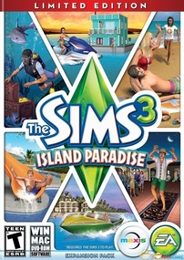 The Sims 3: Island Paradise (Limited Edition) packshot box art