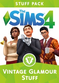 The Sims 4: Vintage Glamour Stuff packshot box art