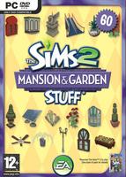 The Sims 2: Mansion & Garden Stuff box art packshot
