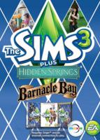The Sims 3 Plus Hidden Springs and Barnacle Bay packshot box art