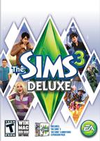 The Sims 3 Deluxe packshot box art