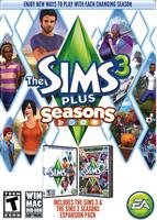 The Sims 3 Plus Seasons packshot box art