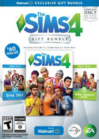 The Sims 4: Walmart Gift Bundle (The Sims 4, The Sims 4: Dine Out, The Sims 4: Movie Hangout Stuff) packshot box art
