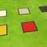 De Stijl floor tiles for The Sims 4