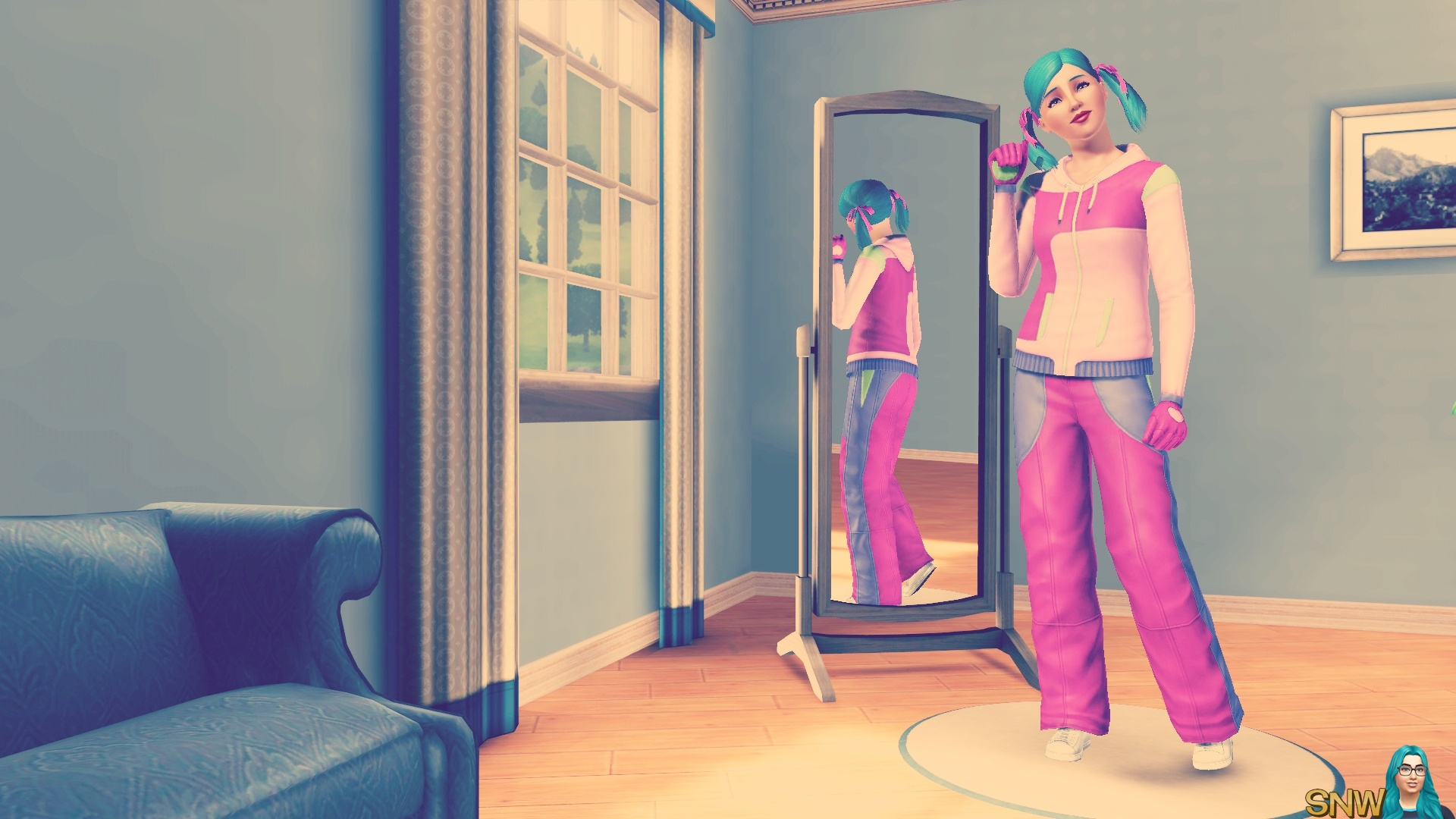 House Party inspired Sim