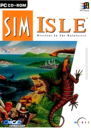 Sim Isle SimIsle packshot box art
