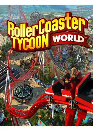Rollercoaster Tycoon World Box Art Packshot