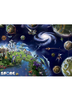 Spore (Galactic Edition) poster