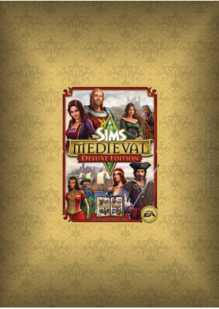 The Sims Medieval Deluxe Pack box art packshot