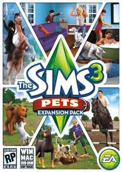 The Sims 3: Pets box art packshot