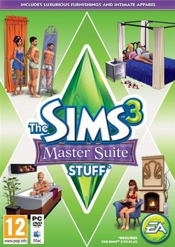 The Sims 3: Master Suite Stuff box art packshot