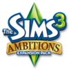 The Sims 3: Ambitions logo