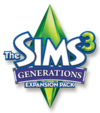 The Sims 3: Generations logo