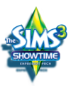 The Sims 3: Showtime logo