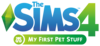 The Sims 4: My First Pet Stuff logo