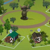 The Sims 4: Granite Falls world neighbourhood #1