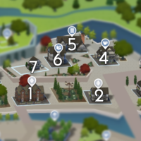 The Sims 4: Windenburg world neighbourhood #1