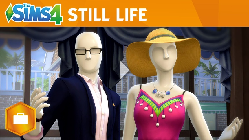 The Sims 4 Get to Work: Still Life