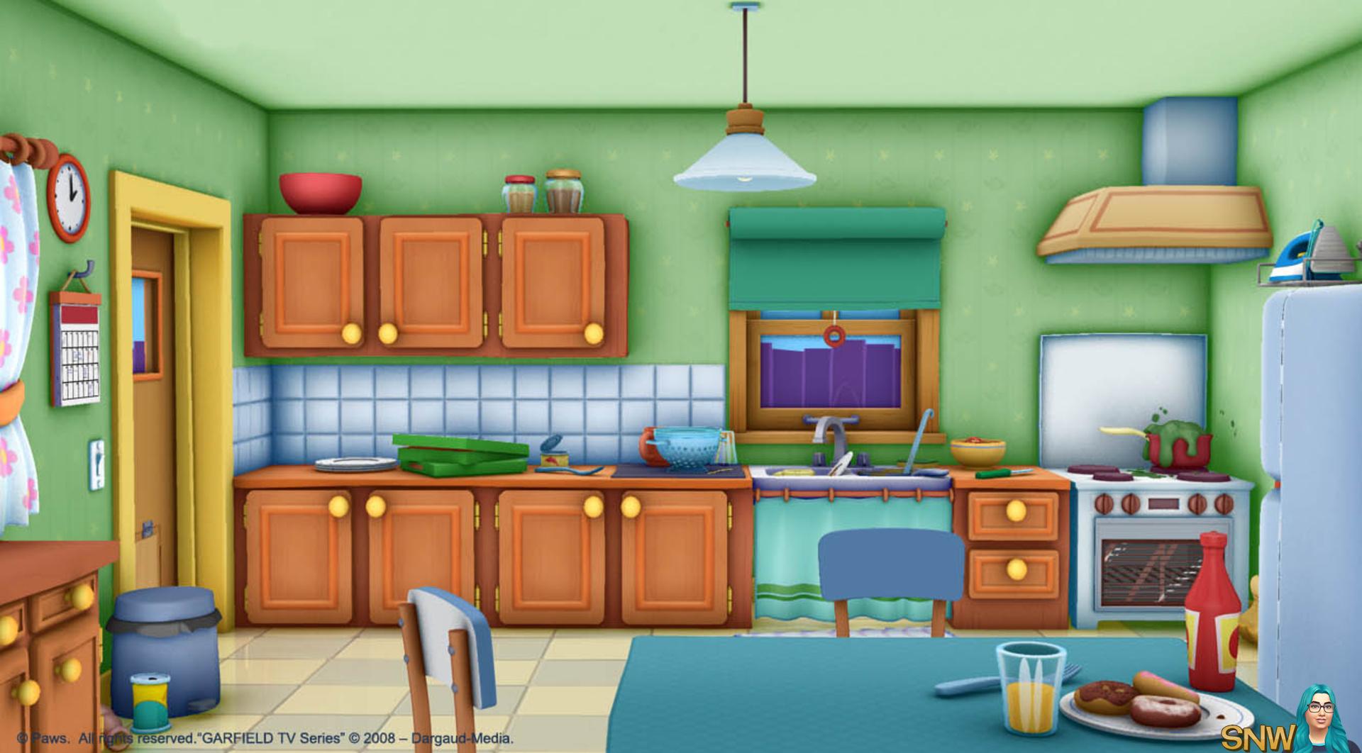 Кухня в картинках для детей, рада что тобой