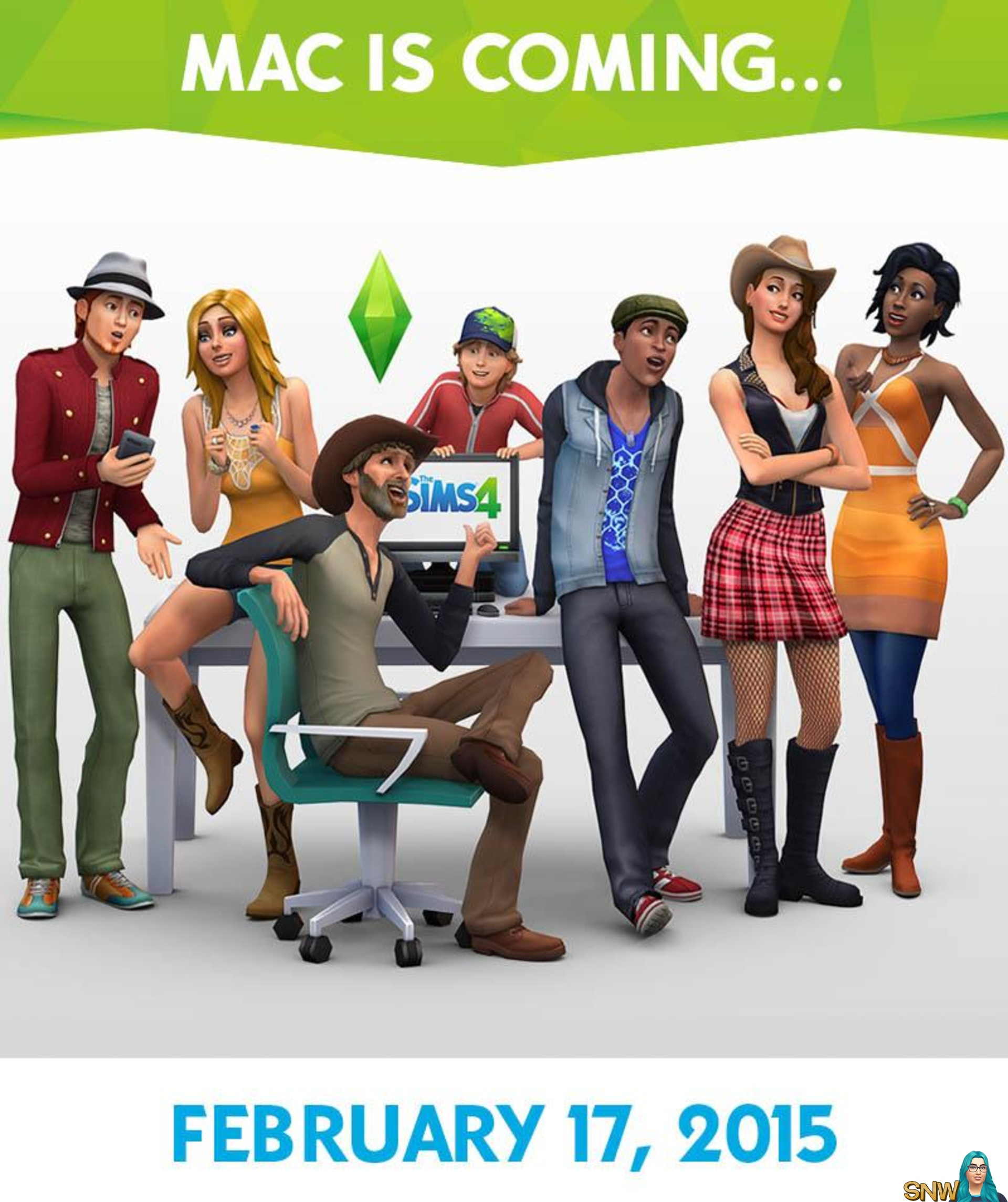 The Sims 4 on Mac