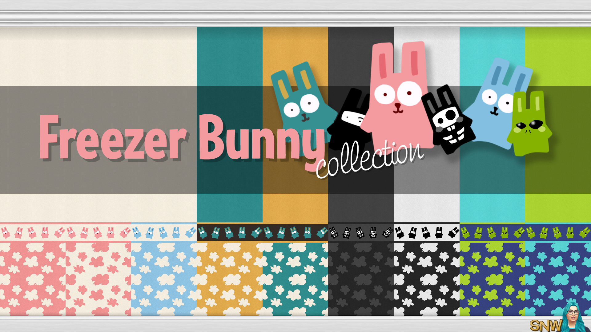 Freezer Bunny Collection Clouds Wallpapers Snw Sporenetwork Com
